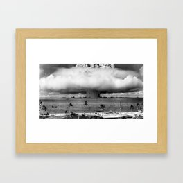 Operation Crossroads: Baker Explosion Framed Art Print