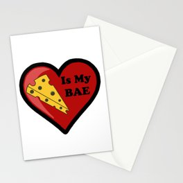 Cheese Is My BAE Stationery Cards