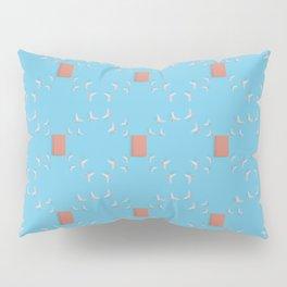 Notebook and Butterflies Pattern Pillow Sham