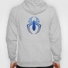 Blue Spider Web Hoody