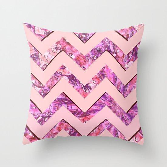 Girly Pink Throw Pillow