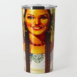 Vintage Bountiful Mexico Travel Travel Mug