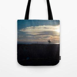 Santa Cruz Surfer Tote Bag