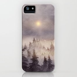Into The Forest III iPhone Case
