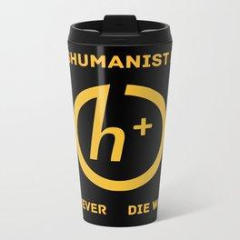 Transhumanist Party Metal Travel Mug