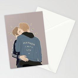 MANNEN I MITT LIV Stationery Cards
