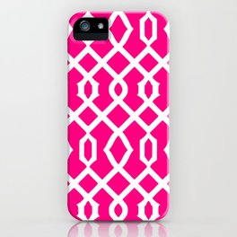 Grille No. 3 -- Magenta iPhone Case