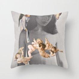 Shameless In The Eyes Of God Throw Pillow