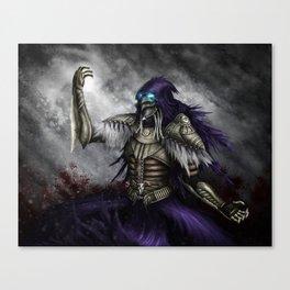 Dark Sorcerer Canvas Print
