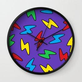 90's Bolt Wall Clock