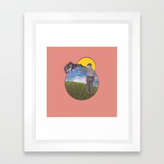 seize//the.moment/ Framed Art Print