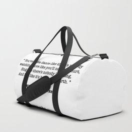 William W. Purkey Quote Duffle Bag
