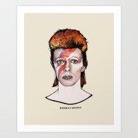 David Bowie Is Ziggy Stardust Art Print