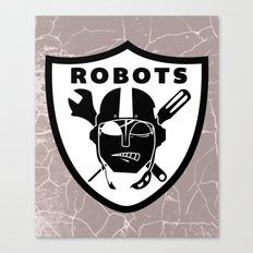 Raider robots Canvas Print