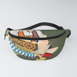 Europe - Vintage Airline Poster Fanny Pack