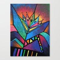 alien Canvas Prints featuring ALIEN by Deyana Deco