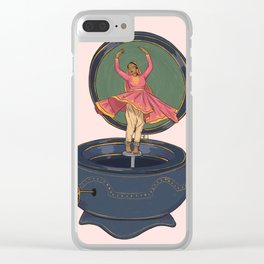 Tiny Dancer Clear iPhone Case
