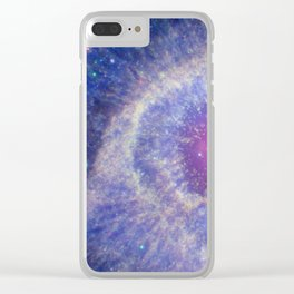The Helix Nebula Clear iPhone Case
