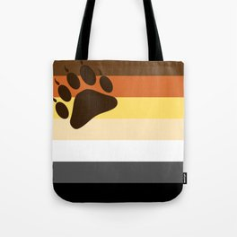 Bear Flag Paw Edition Tote Bag