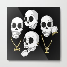 Death Row Metal Print