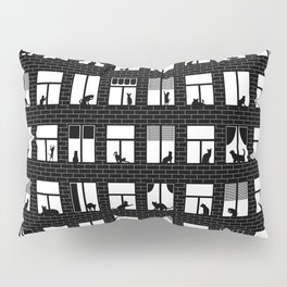 Feline Towers Pillow Sham
