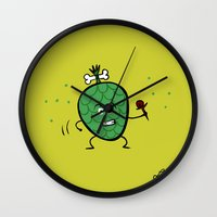 Cherimoya Wall Clock