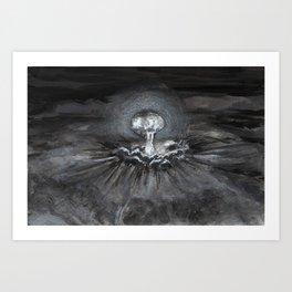 Twin Peaks - The birth of all evil Art Print