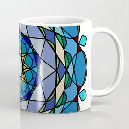 Vivid colored mandala Coffee Mug