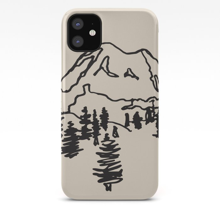 rainier iPhone Case