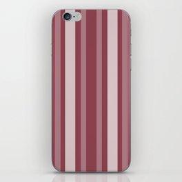 Dark Rose Victorian Lady Stripe iPhone Skin