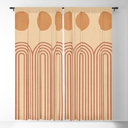 Minimal Geometric Shapes 85 Blackout Curtain