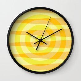 Sun shades levitate rings Wall Clock