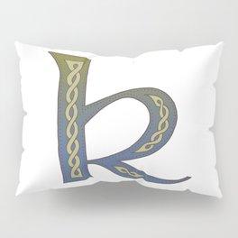Celtic Knotwork Alphabet - Letter K Pillow Sham