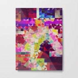 paper cut horse Metal Print