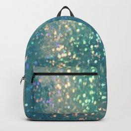 Blue glimmer Backpack