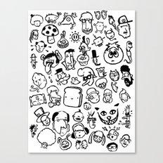 Comic Sans Canvas Print