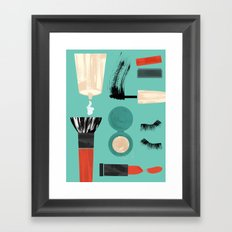 Beauty Tools of the Trade Framed Art Print