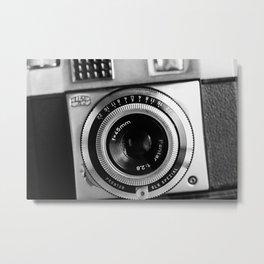 Vintage Film Camera Metal Print