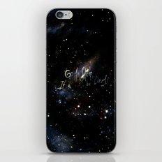 go to sleep,it'll be okay iPhone & iPod Skin