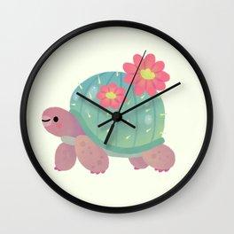 Cactus tortoise Wall Clock