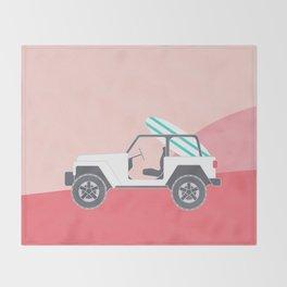SAFARI BEACH Throw Blanket