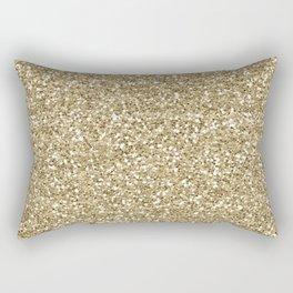 Glitter - Gold 1. Rectangular Pillow