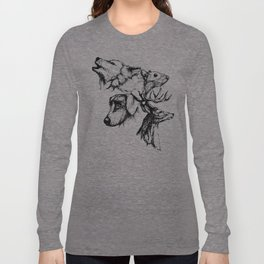 Moony Wormtail Padfoot Prongs Long Sleeve T-shirt