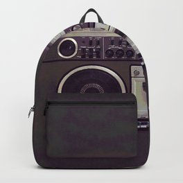 Retro Boombox Backpack
