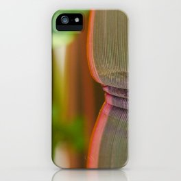 Pleated leaves  iPhone Case