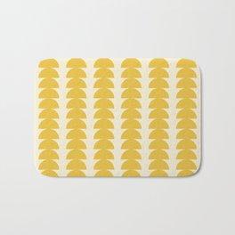 Maude Pattern - Golden Bath Mat