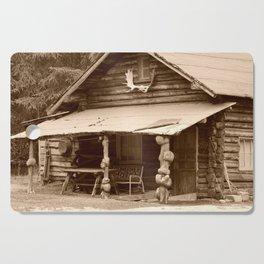 Old Log Cabin Cutting Board
