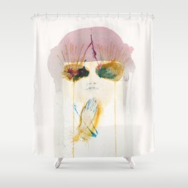 Tunnel Vision Pt.2 Shower Curtain