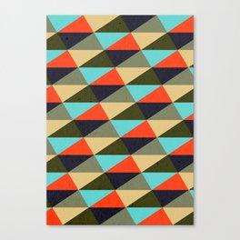 Ternion Series: Wintertide Festival Motif Canvas Print