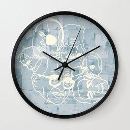 Israeli Leaders: Pattern 4 Wall Clock